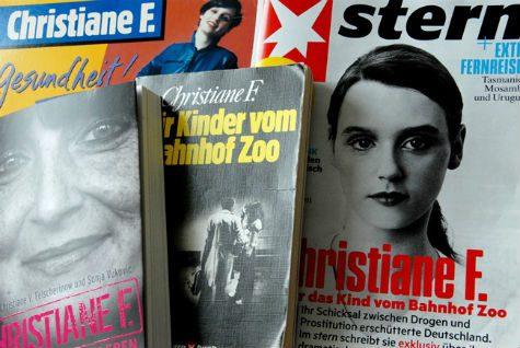 christiane f libros disco reportajes entrevista zoo