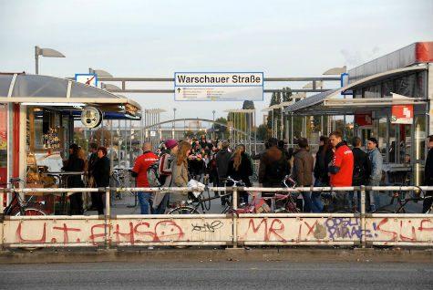 Warschauer Str. berlin musicia salir kreuzberg friedrichshain 13 imprescindibles de Berlin