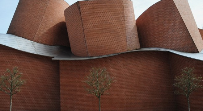 Museo Marta Herford, obra de Frank Gehry
