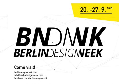 Berlin Design Week 2018