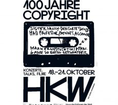 100 years of copyright Berlin 2018