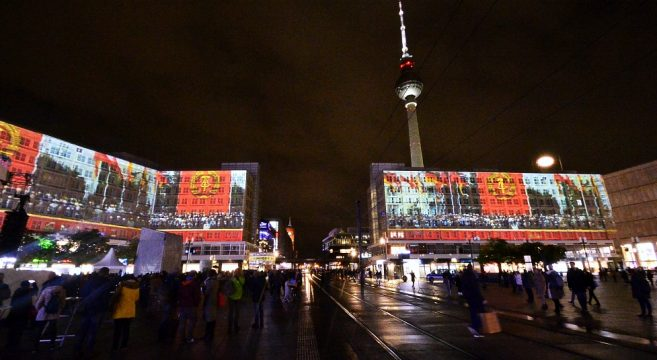 30 Jahre Mauerfall Berlin Events