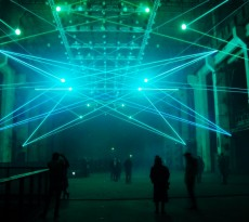 """transmediale 2016 - """"Deep Web"""" A kinetic audiovisual installation and performance by Christopher Bauder & Robert Henke"""